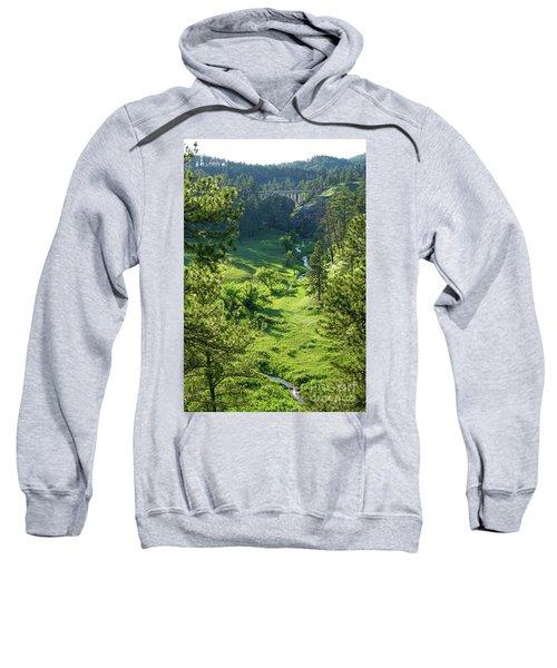 Beaver Creek In The Spring Sweatshirt
