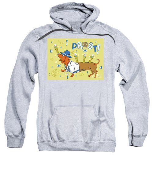 Beer Dachshund Dog Sweatshirt
