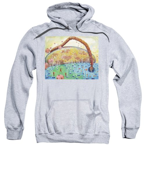 Bee's Eye And Antenna Sweatshirt