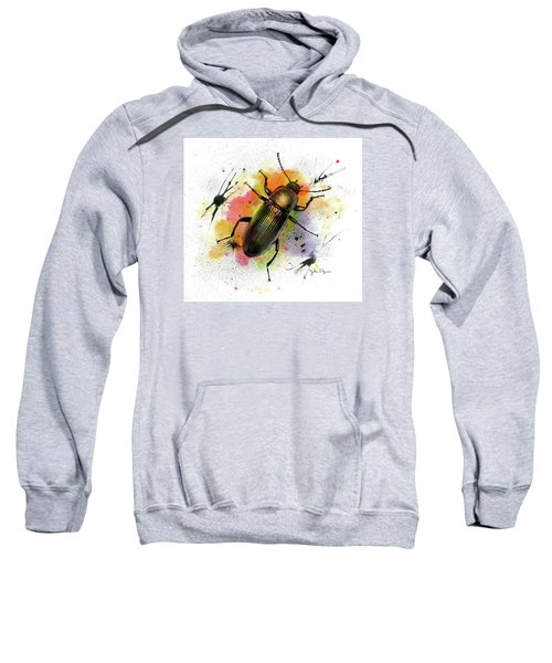 Beetle Illustration Sweatshirt