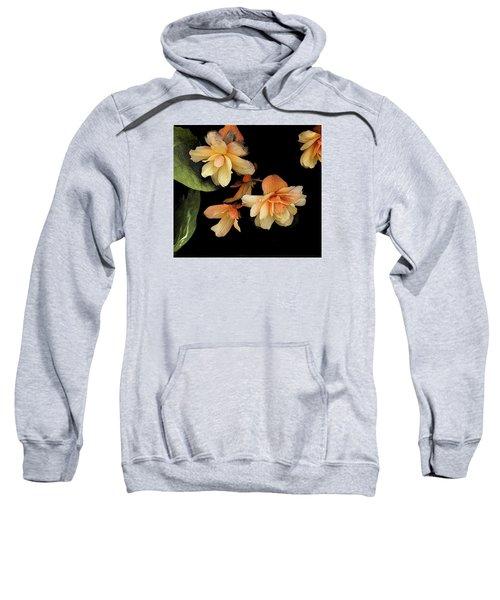 Begonias 2 Sweatshirt
