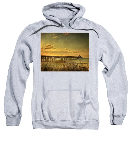 Behind Cherry Grove Pier  Sweatshirt