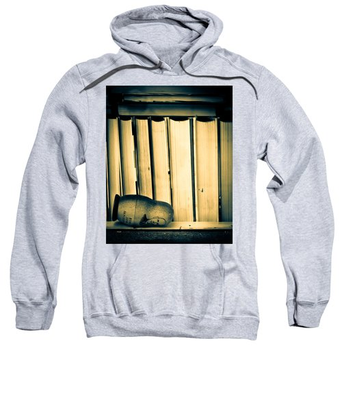 Being John Malkovich Sweatshirt by Bob Orsillo
