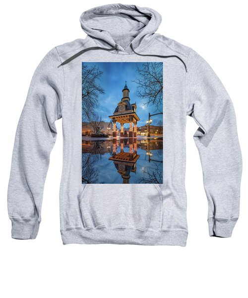 Bell Tower  In Beaver  Sweatshirt by Emmanuel Panagiotakis