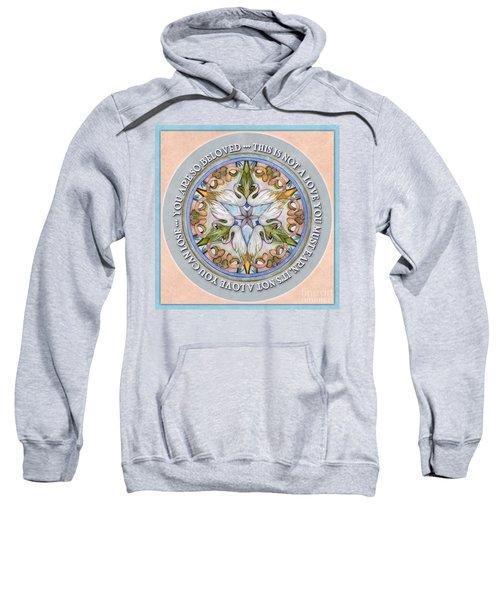 Beloved Mandala Prayer Sweatshirt