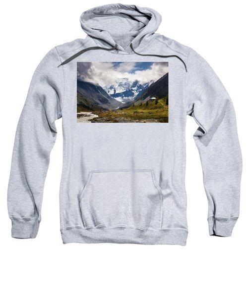Belukha Mountain. Altay. Russia Sweatshirt