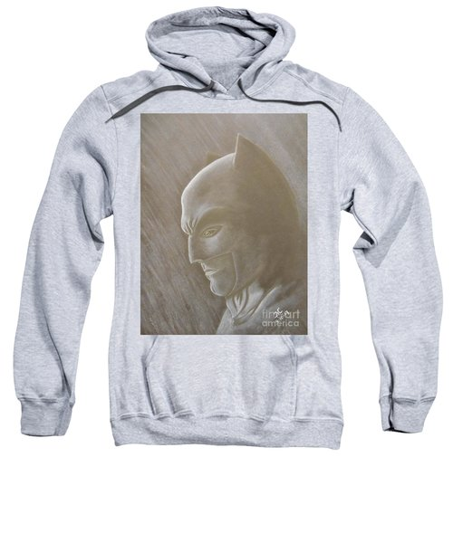 Ben As Batman Sweatshirt by Josetta Castner