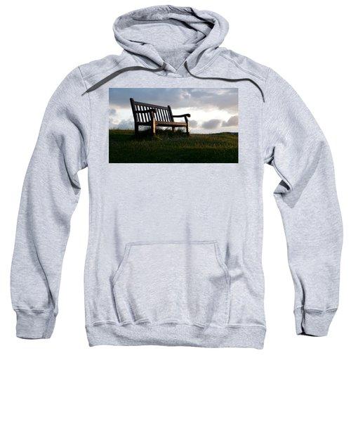 Bench At Sunset Sweatshirt