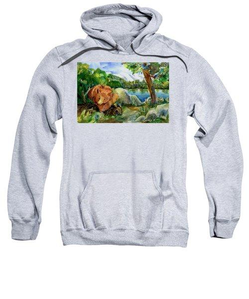 Between A Rock And Hardplace Sweatshirt