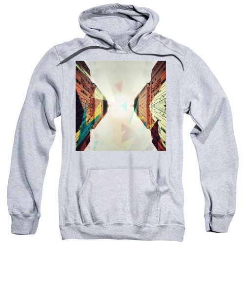 Between Imagination And Reality Sweatshirt