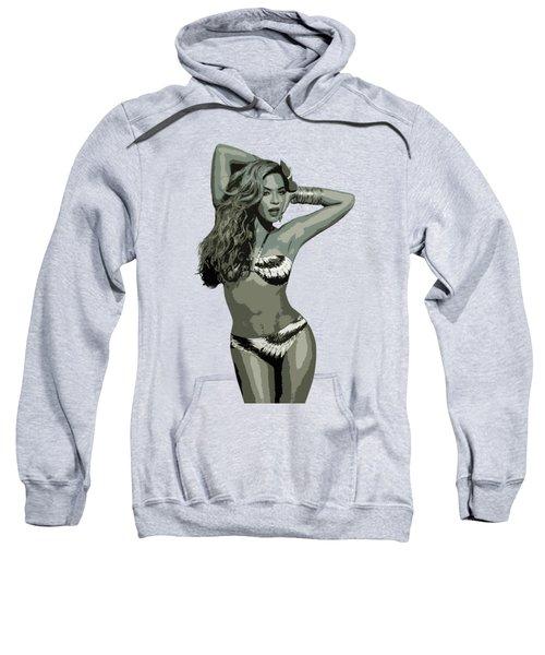 Beyonce Cutout Art Sweatshirt