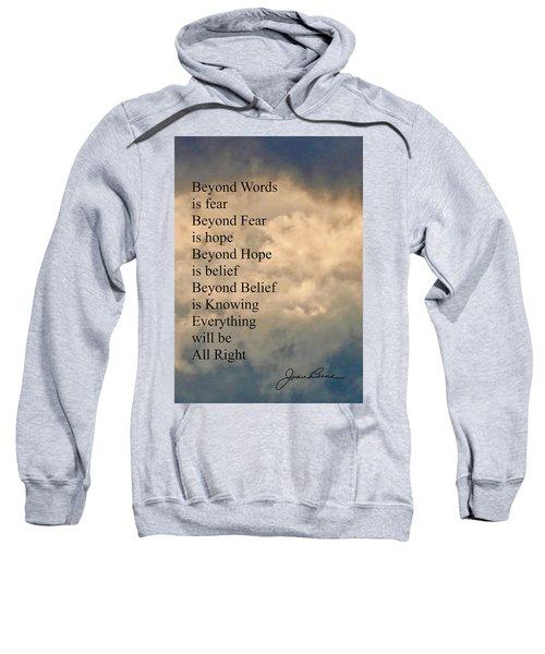 Beyond Words Sweatshirt