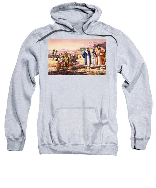 Biblical Landscape Sweatshirt