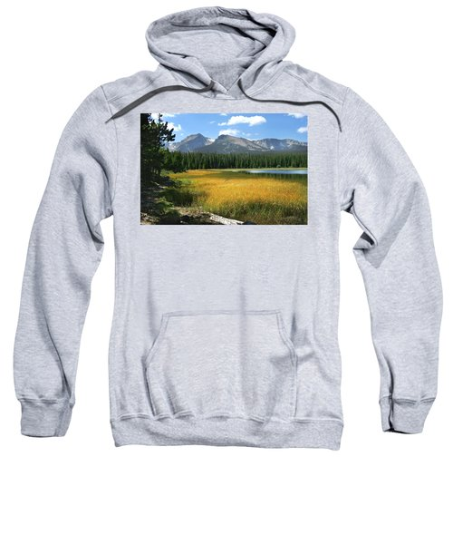 Autumn At Bierstadt Lake Sweatshirt