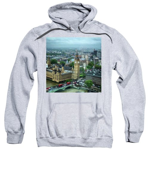 Big Ben From The London Eye Sweatshirt