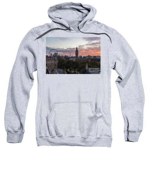Big Ben London Sunrise Sweatshirt by Mike Reid