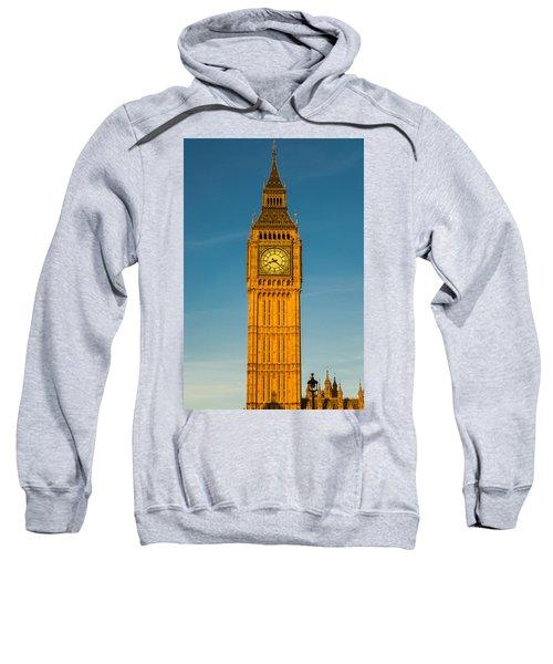 Big Ben Tower Golden Hour London Sweatshirt