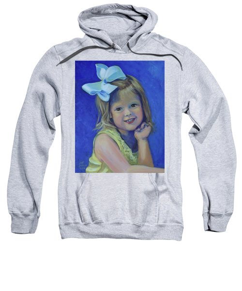Big Bow Little Girl Sweatshirt