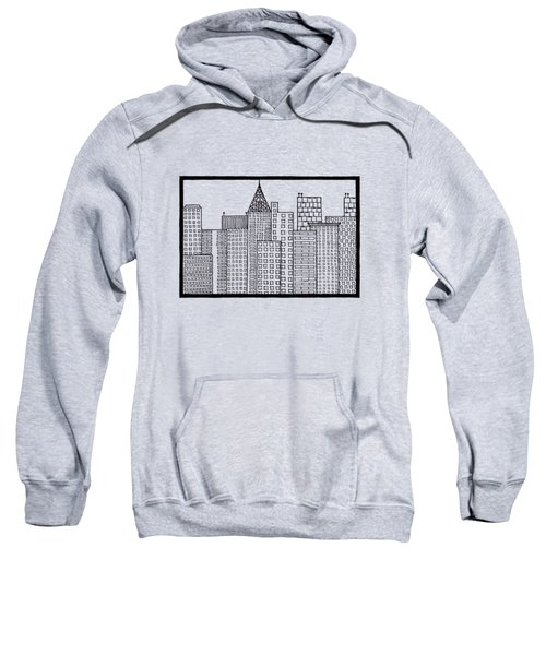 Big City Sweatshirt by Konstantin Sevostyanov