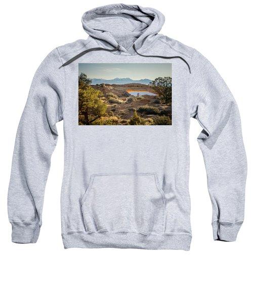 Bighorn Sheep And Mesa Arch Sweatshirt
