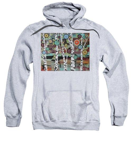 Birch Woods Sweatshirt by Karla Gerard