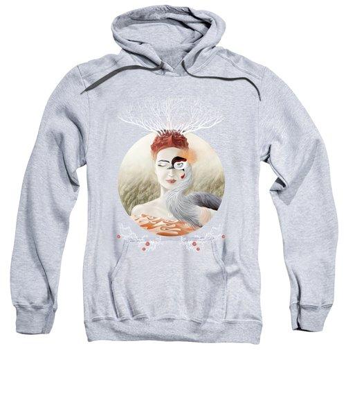 Bird Of Cranes Sweatshirt