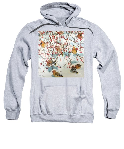 Birds And Berries Sweatshirt