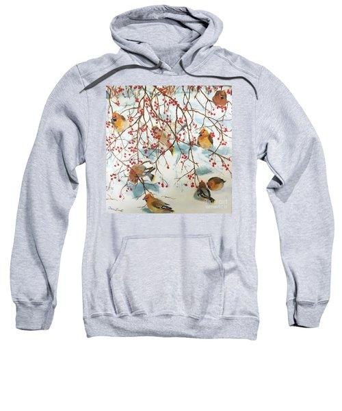 Birds And Berries Sweatshirt