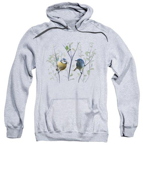 Birds In Tree Sweatshirt