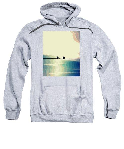 Birds On A Wire Sweatshirt