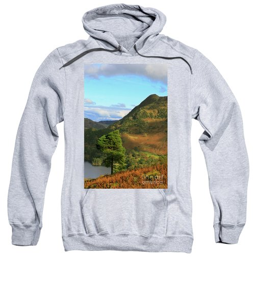 Birk Fell And Silver Crag From Keldas In The Lake District Cumbria Sweatshirt