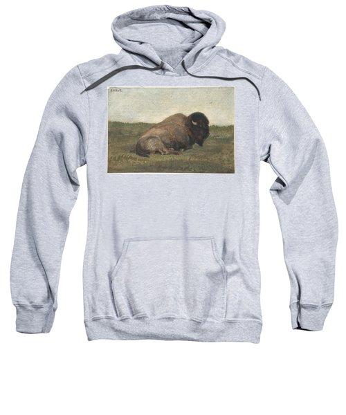 Bison Lying Down Sweatshirt