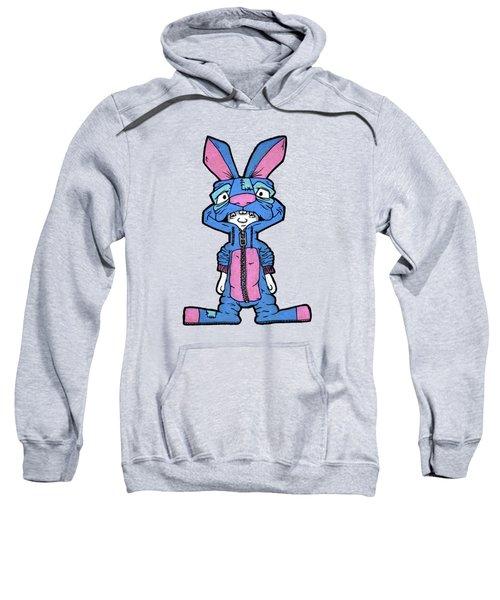 Bizarre Bunny Mascot Sweatshirt by Bizarre Bunny