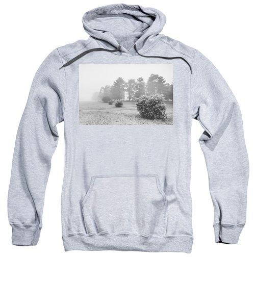 Black And White Snow Landscape Sweatshirt