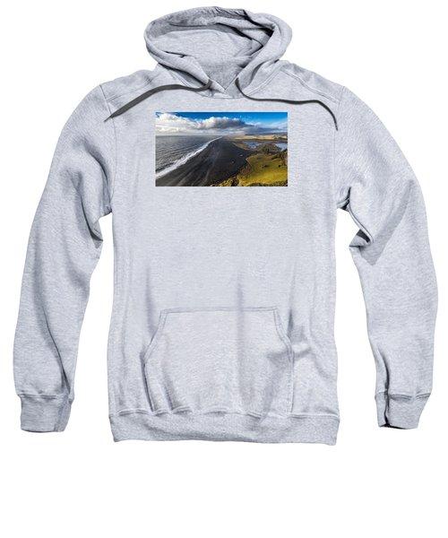 Black Beach Sweatshirt
