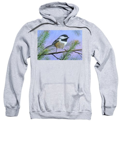 Black Cap Chickadee Sweatshirt