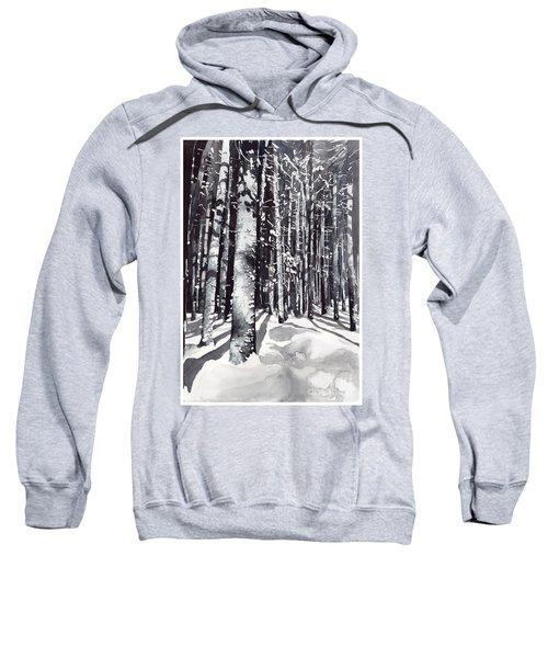 Black Forest Watercolor Sweatshirt