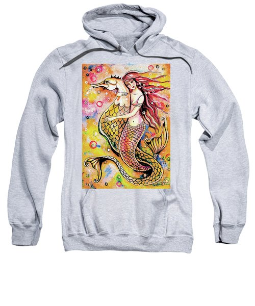 Black Sea Mermaid Sweatshirt
