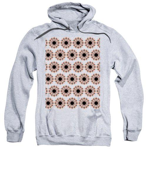 Black Stars Pattern Sweatshirt