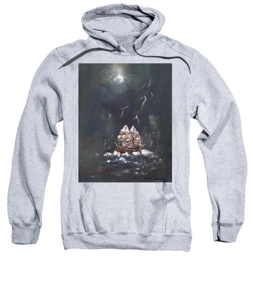 Black Storm Sweatshirt