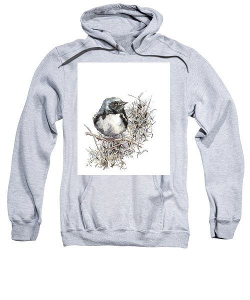 Black-throated Blue Warbler Sweatshirt
