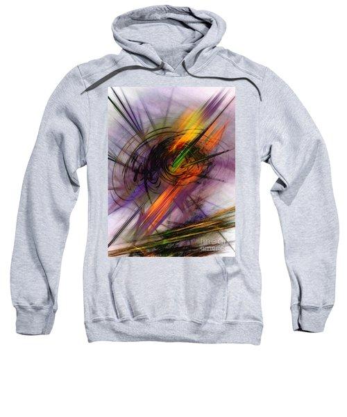 Blazing Abstract Art Sweatshirt