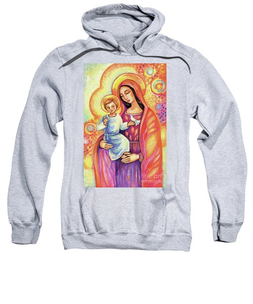Blessing Of The Light Sweatshirt by Eva Campbell