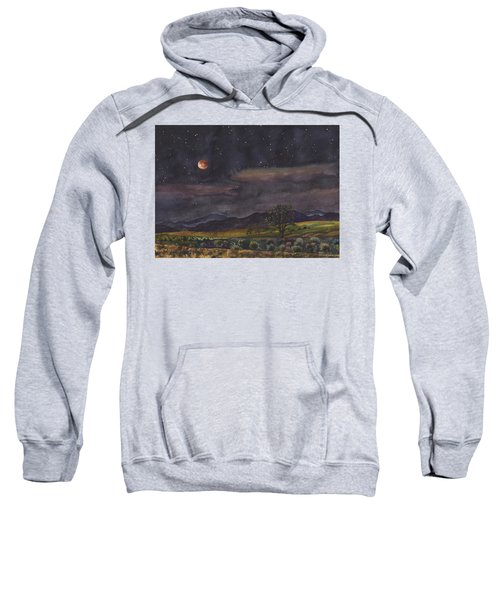 Blood Moon Over Boulder Sweatshirt