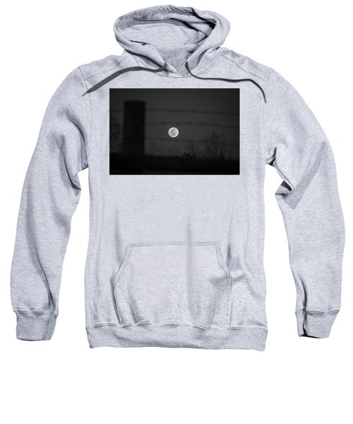 Sweatshirt featuring the photograph Blood Moon by Stephen Holst