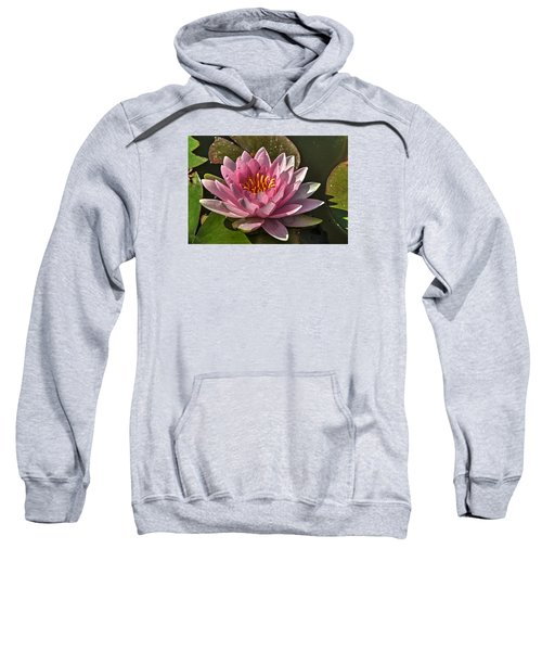 Blossoms And Lily Pads 5 Sweatshirt