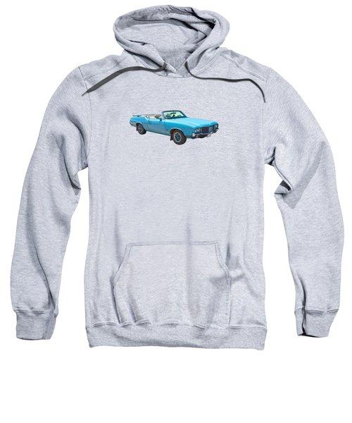 Blue 1971 Oldsmobile Cutlass Supreme Convertible Sweatshirt