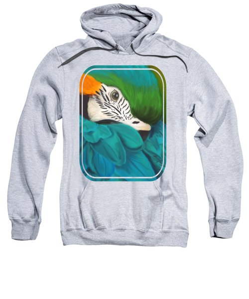 Blue And Gold Macaw Sweatshirt