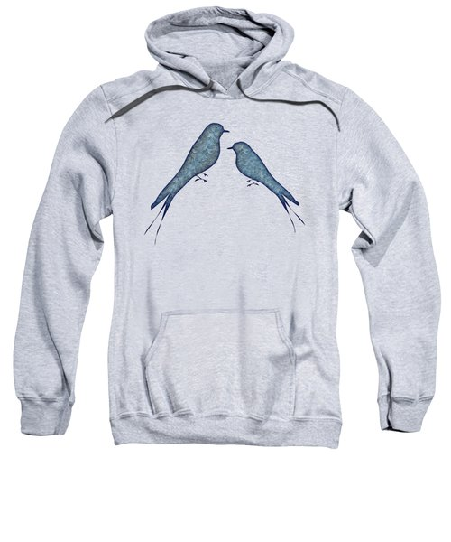 Blue Birds 2  Sweatshirt
