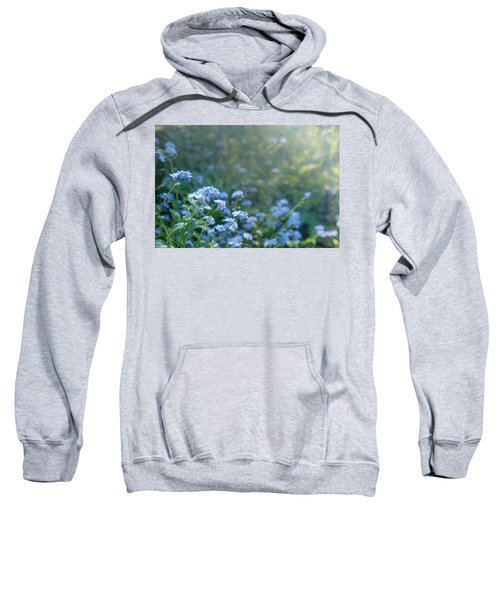 Blue Blooms Sweatshirt